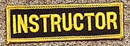 Instructor Patch